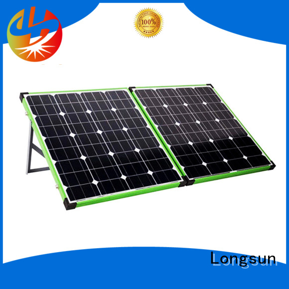 Longsun yeas folding solar panels supplier for camping