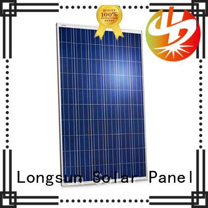 Longsun solar high watt solar panel overseas market for petroleum