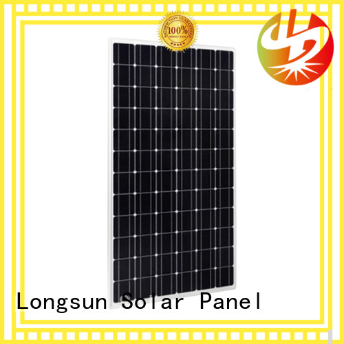 Longsun competitive price highest rated solar panels for marine