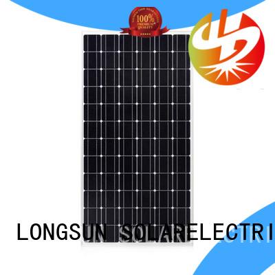 250wpmono cheap solar panels directly sale for ground facilities Longsun