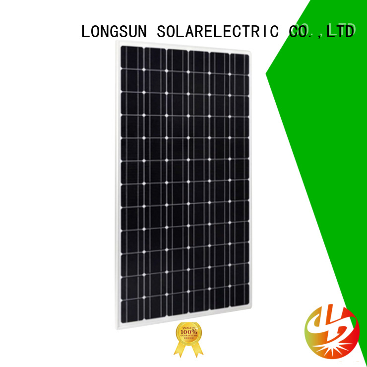 Longsun long-lasting highest rated solar panels wholesale for powerless area