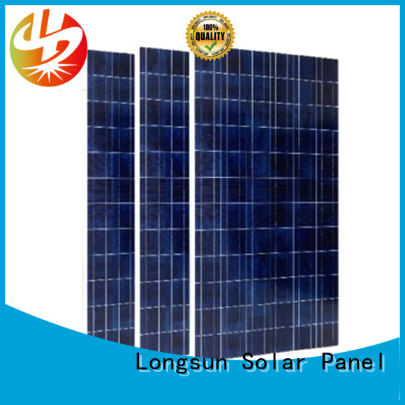 Longsun reliable sunpower solar panels factory price for lamp power supply