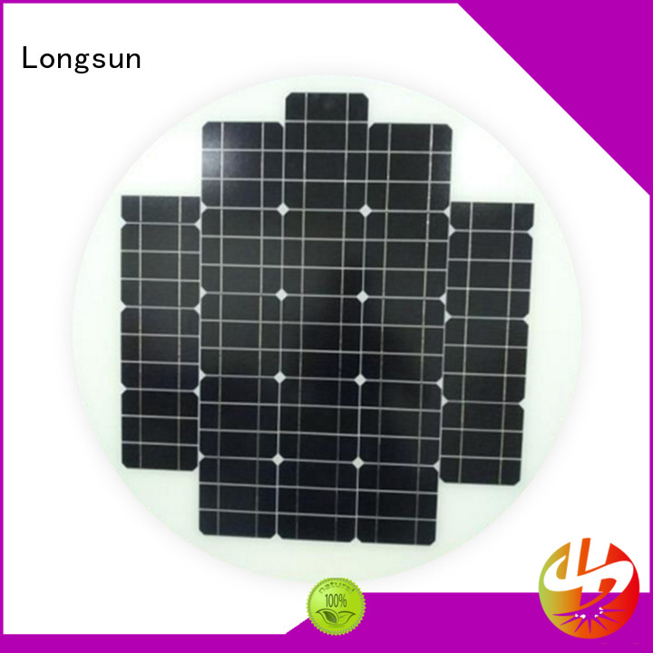 durable new solar panels round supplier for Solar lights