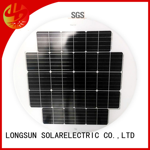 widely used round solar panels lights dropshipping for Solar lights