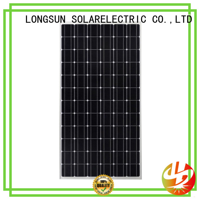Longsun competitive price high output solar panel series for communication field