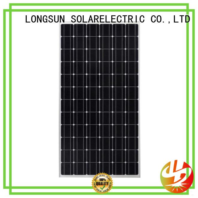 long-lasting sunpower solar panels 270w for traffic field