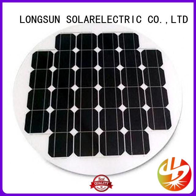Longsun UV resistant round solar panels wholesale for other Solar applications