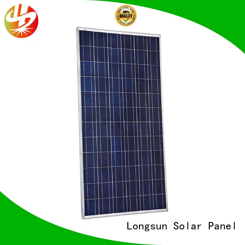 Longsun 330w highest watt solar panel vendor for communication field