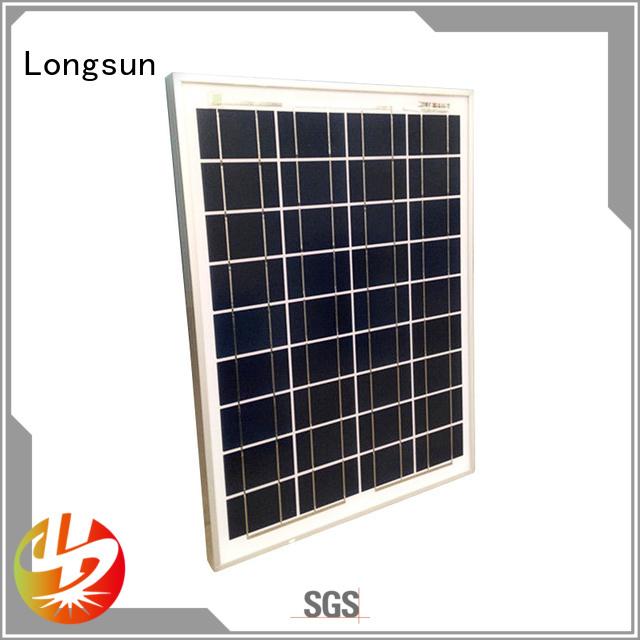 polycrystalline poly panel wholesale for solar street lights Longsun