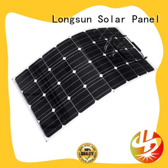 Longsun high-end advanced solar panels marketing for roof of rv