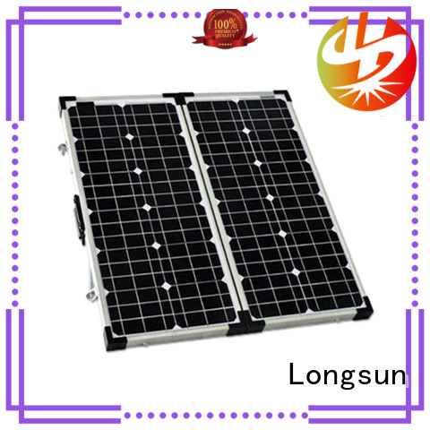 Longsun high-end best foldable solar panel supplier for camping