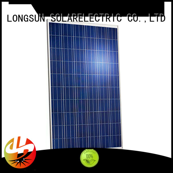 Longsun 320w highest watt solar panel customized for lamp power supply