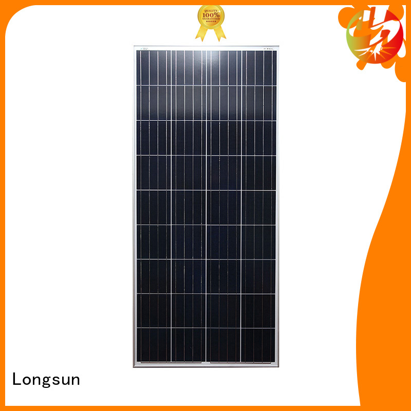 Longsun competitive price polycrystalline solar panel supplier for aerospace