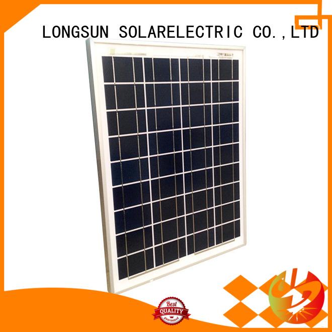 long-life polycrystalline solar cells panels series for solar street lights