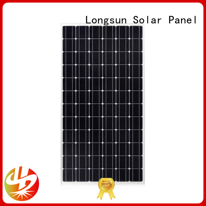 Longsun solar mono pv module factory price for space