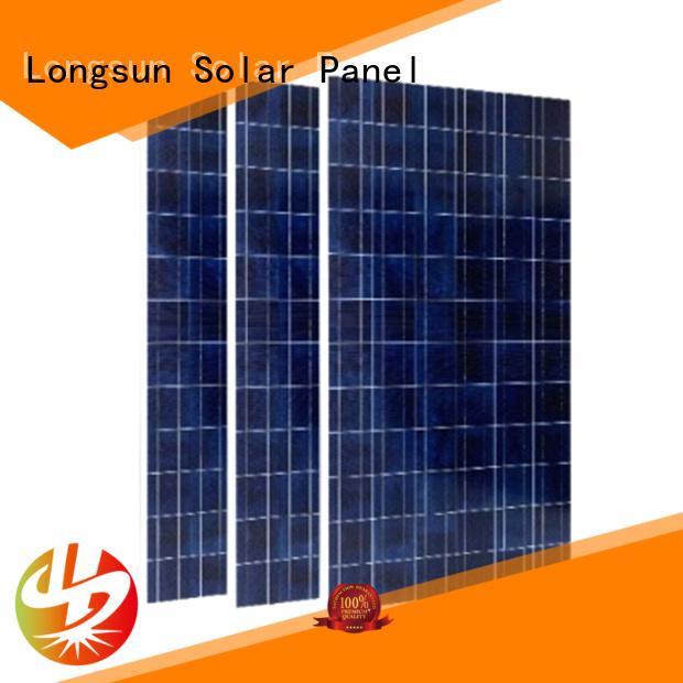 Longsun poly best solar panel company marketing for marine