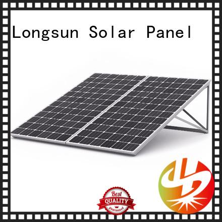 Longsun panel high tech solar panels overseas market for photovoltaic power station