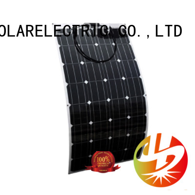 Longsun high-end semi-flexible solar panel dropshipping for roof of rv