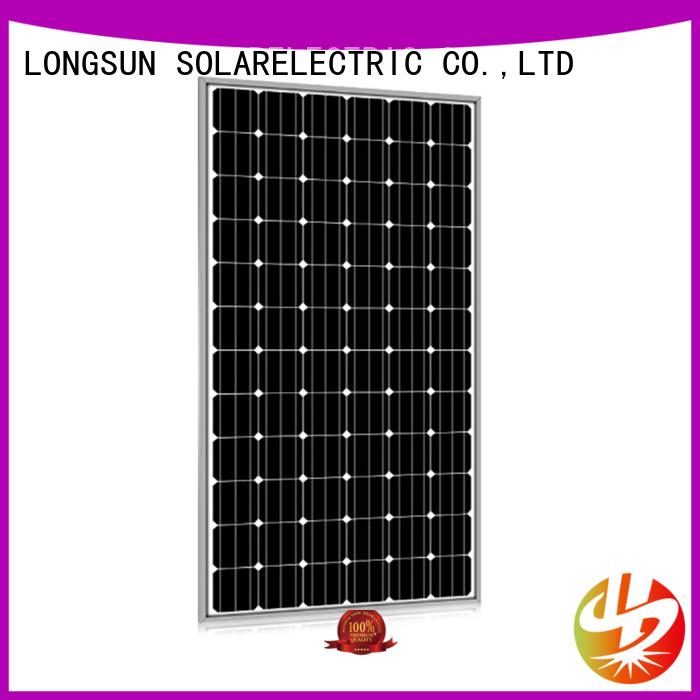 Longsun long-lasting best solar panel company customized for powerless area