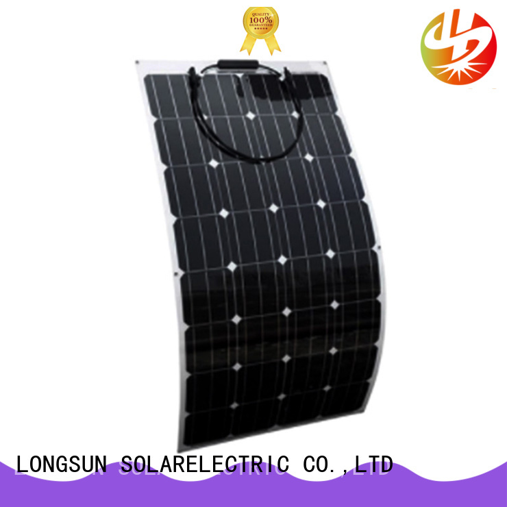 competitive price flexible solar panels 120w factory price for yachts