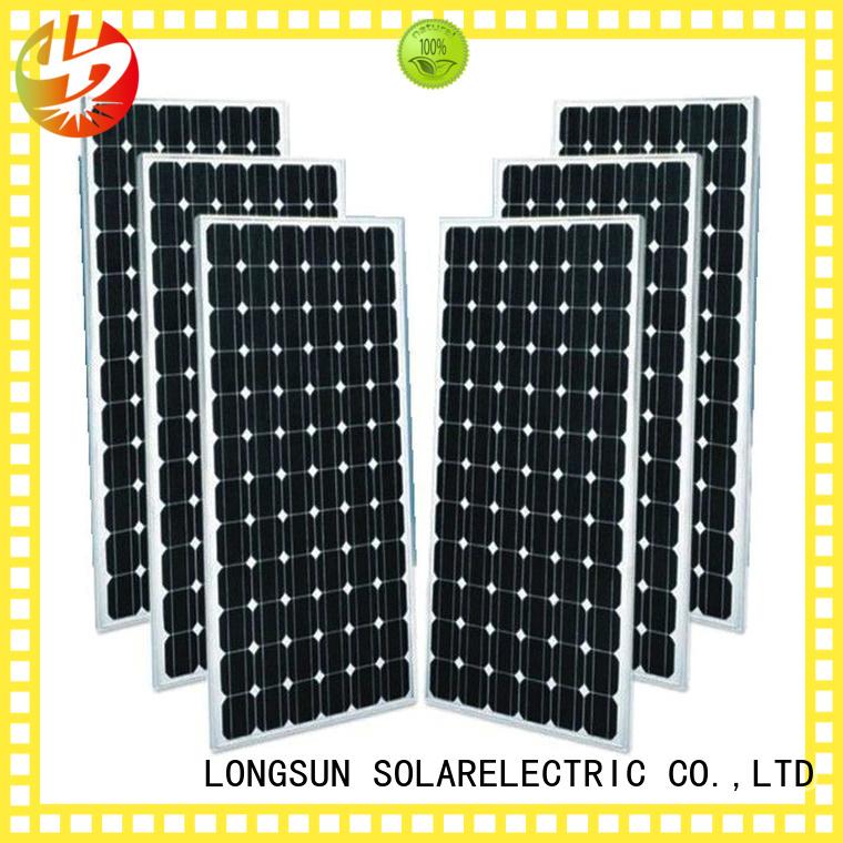 Longsun monocrystalline solar module dropshipping for ground facilities