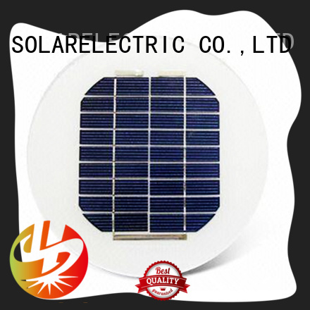 40W ROUND / CIRCLE SOLAR PANEL FOR STREET LIGHTS