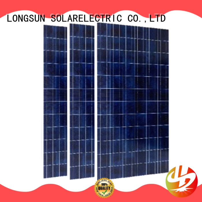 Longsun reliable highest rated solar panels marketing for communication field