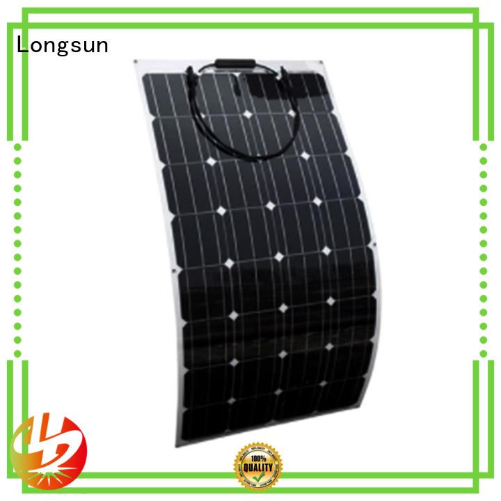 solar cell panels 60w for roof of rv Longsun