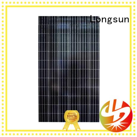 solar panel suppliers polycrystallinesolar for communications Longsun