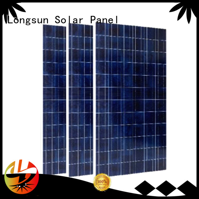Longsun widely used sunpower solar panels for photovoltaic power station