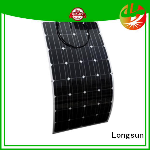Longsun solar semi flexible solar panel wholesale for boats