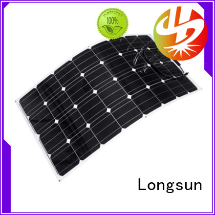 high-end advanced solar panels 120w directly sale for roof of rv