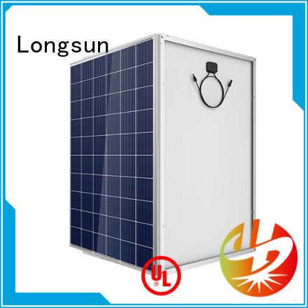 Longsun solar best solar panel company series for powerless area