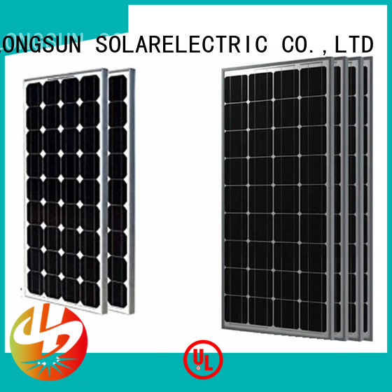 poly powerful solar panels supplier for photovoltaic power station Longsun