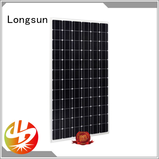 Longsun poly highest rated solar panels series for powerless area