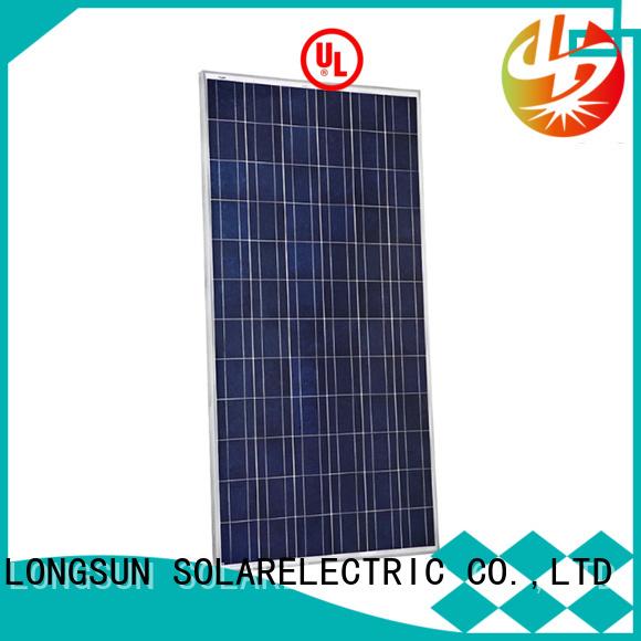 Longsun widely used high watt solar panel for petroleum