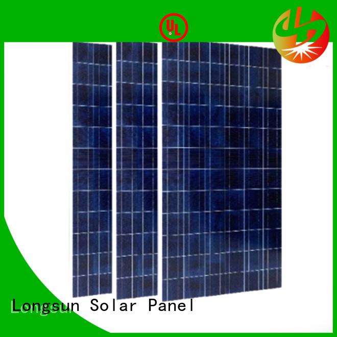 Longsun competitive price high tech solar panels factory price for powerless area