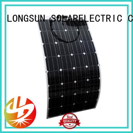 60W SEMI FLEXIBLE SOLAR PANEL