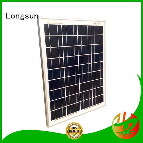 Longsun panel  polycrystalline solar cells dropshipping for solar power generation systems