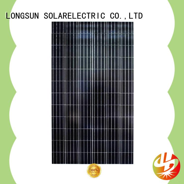 Longsun high-end polycrystalline solar panel order now for aerospace