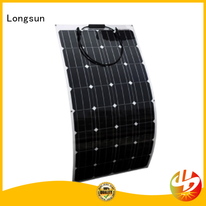 competitive price advanced solar panels 120w overseas market for roof of rv