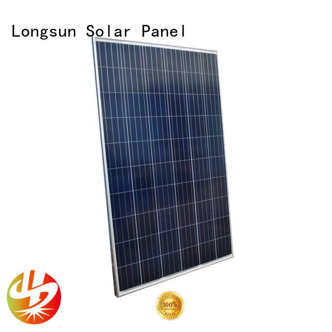 Longsun monocrystalline best solar panel company for photovoltaic power station