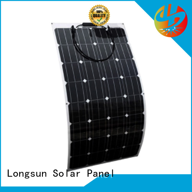 high-quality semi-flexible solar panel 120w overseas market for yachts