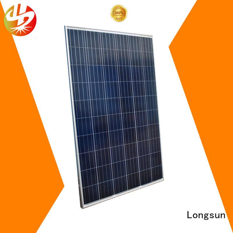 Longsun panels high capacity solar panels vendor for meteorological