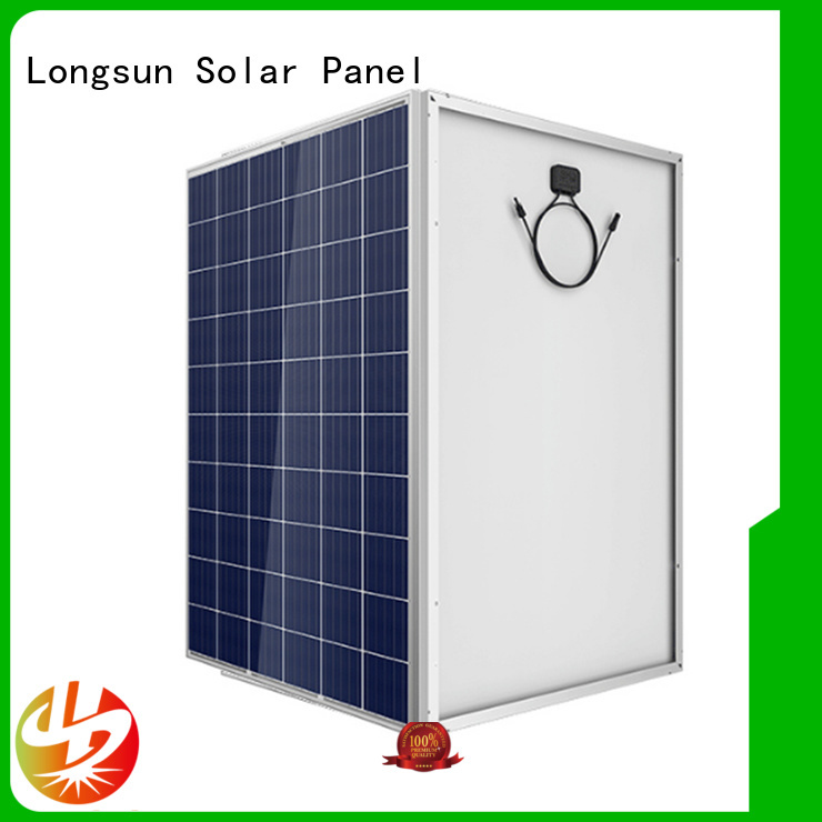 Longsun competitive price best solar panel company series for powerless area