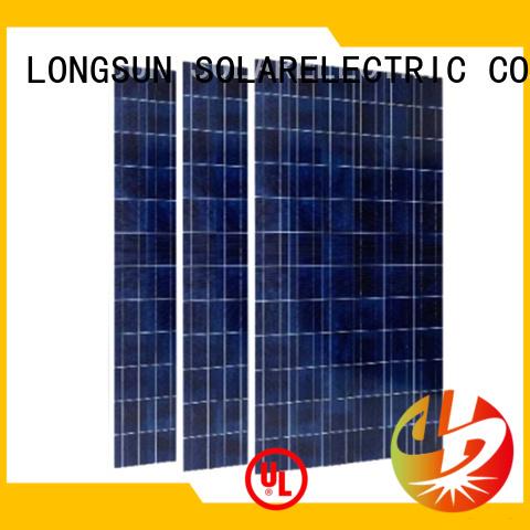 Longsun 350w high watt solar panel overseas market for meteorological