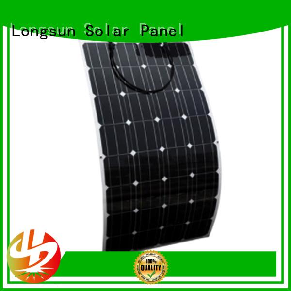semi-flexible solar panel flexible for boats Longsun