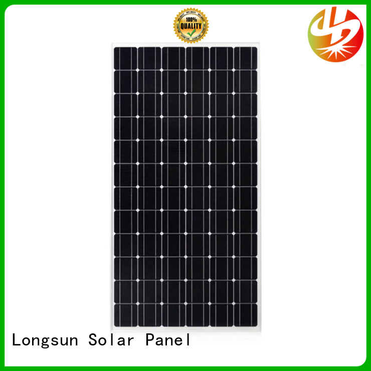 Longsun module monocrystalline solar cell supplier for ground facilities