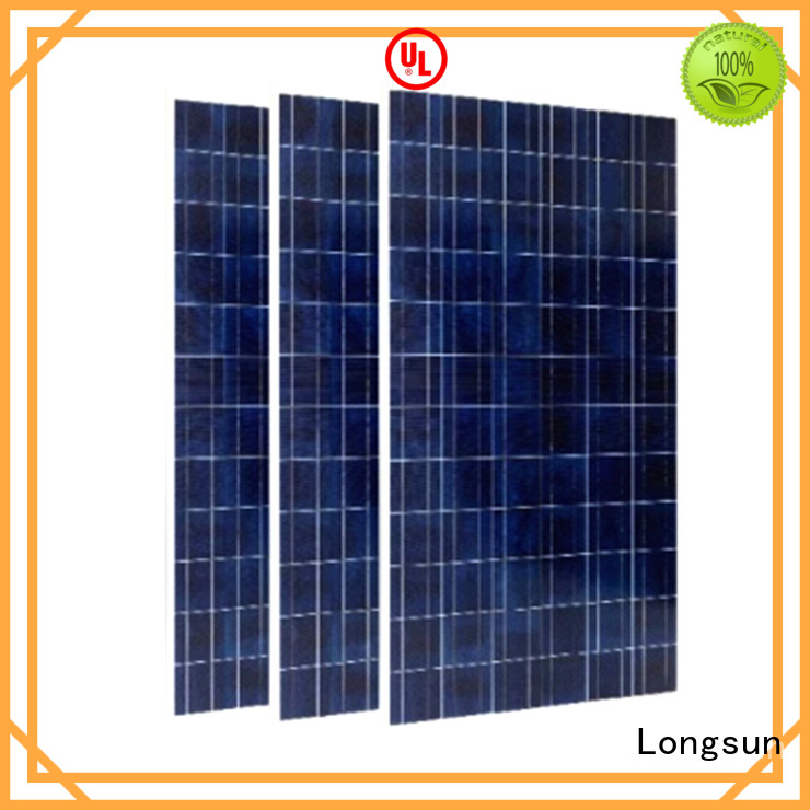Longsun 350w highest watt solar panel overseas market for communication field
