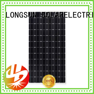 Longsun pv solar module overseas market for ground facilities